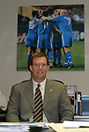 30 October 2004: Wizards General Manager Curt Johnson. The Kansas City Wizards defeated the San Jose Earthquakes 3-0 at Arrowhead Stadium in Kansas City, MO in the second leg of their Major League Soccer Western Conference Semifinal playoff series. The Wizards eliminated the Earthquakes 3-2 on aggregate goals..