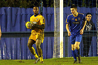 Emmanuel Agboola of Romford  during Romford vs Coggeshall Town, BetVictor League North Division Football at the Brentwood Centre on 16th November 2019