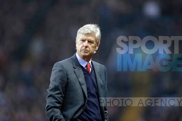 Arsenal manager Arsene Wenger - Football - Barclays Premier League - Aston Villa vs Arsenal - Villa Park Birmingham - 13th December 2015 - Season 2015/2016 - Photo Malcolm Couzens/Sportimage