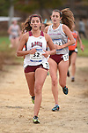 November 1, 2014; Sunnyvale, CA, USA; Loyola Marymount Lions runner Evelyn Gonzalez (32) competes during the WCC Cross Country Championships at Baylands Park.