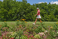 Anna Nordqvist (SWE) makes her way to the tee on 11 during round 1 of the 2018 KPMG Women's PGA Championship, Kemper Lakes Golf Club, at Kildeer, Illinois, USA. 6/28/2018.<br /> Picture: Golffile | Ken Murray<br /> <br /> All photo usage must carry mandatory copyright credit (&copy; Golffile | Ken Murray)