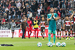 22.07.2017, Millerntor-Stadion, Hamburg, GER, FSP, FC St. Pauli vs SV Werder Bremen<br /> <br /> im Bild<br /> Robin Himmelmann (St. Pauli #30) bedankt sich bei Fans f&uuml;r Unterst&uuml;tzung, <br /> <br /> Foto &copy; nordphoto / Ewert