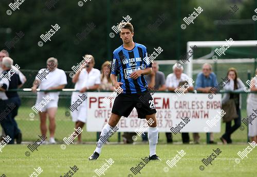 2010-07-21 / Seizoen 2010-2011 / Voetbal / K. Rupel Boom / Olivier Trouillard..Foto: mpics