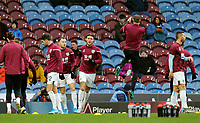 Burnley players during the pre-match warm-up <br /> <br /> Photographer Rich Linley/CameraSport<br /> <br /> The Premier League - Burnley v Crystal Palace - Saturday 30th November 2019 - Turf Moor - Burnley<br /> <br /> World Copyright © 2019 CameraSport. All rights reserved. 43 Linden Ave. Countesthorpe. Leicester. England. LE8 5PG - Tel: +44 (0) 116 277 4147 - admin@camerasport.com - www.camerasport.com