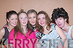 SHOW: Scartaglin actors at the Variety finals in the Aras Padraig, Killarney, on Saturday were l-r: Marita McSweeney, Maureen Brosnan, Helen O'Connor, Una Geaney and Brian Murphy.   Copyright Kerry's Eye 2008