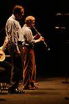 *** EXCLUSIVE Coverage ***.Woody Allen and his New Orleans Jazz Band performing at Placio De Los Congresos y De La Musica Euskalduna in Bilbao, Spain..( with Simon Wettenhall ).December 29, 2004.© Walter McBride /