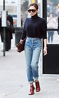 FEB 09 Victoria Beckham seen in New York City