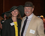 Trudy Larson and Ron Luscher during the Kentucky Derby Party at The Peppermill on Saturday, May 6, 2017 in Reno, Nevada.