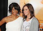 """HOLLYWOOD, CA. - March 25: Monique Coleman and Ashley Tisdale arrive to """"The Last Song"""" Los Angeles Premiere at ArcLight Hollywood on March 25, 2010 in Hollywood, California."""