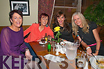 Girls Night Out : Abbeyfeale Girls Mag O'Connor, Greta O'Connell, Noelle Breen & Josephine Keane on a night out on the town pictured in Leen's Hotel, Abbeyfeale  on Saturday night last.
