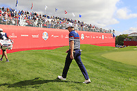 Zach Johnson US Team makes his way to the 10th tee during Thursday's Practice Day of the 41st RyderCup held at Hazeltine National Golf Club, Chaska, Minnesota, USA. 29th September 2016.<br /> Picture: Eoin Clarke | Golffile<br /> <br /> <br /> All photos usage must carry mandatory copyright credit (&copy; Golffile | Eoin Clarke)