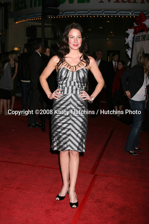 "Lynn Collins arriving at the ""Marley & Me"" World Premiere at the Mann's Village Theater  in Westwood, CA  on December 11, 2008.©2008 Kathy Hutchins / Hutchins Photo....                ."