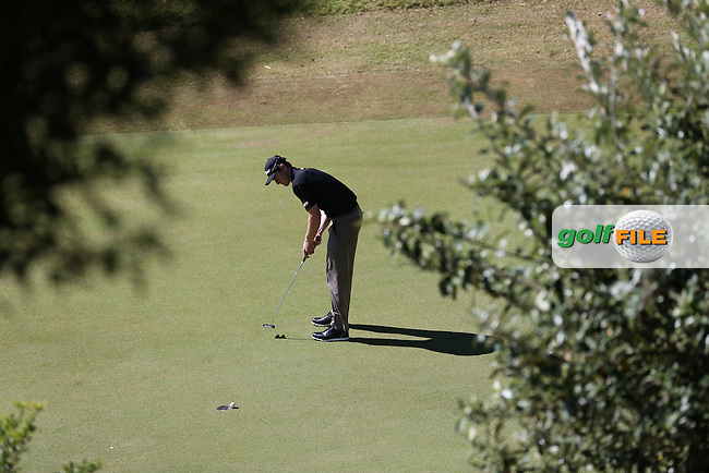 Todd Sinnott (AUS) misses birdie during Round Three of the Africa Open 2015 at the East London Golf Club, East London, Eastern Cape, South Africa. Picture:  David Lloyd / www.golffile.ie. 07/03/2015