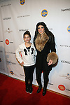 Gia and Mob Wives' Teresa Giudice-Arrivals-Boy Meets Girl By Stacy Igel At New York Fashion Week Style360, NY   2/13/13