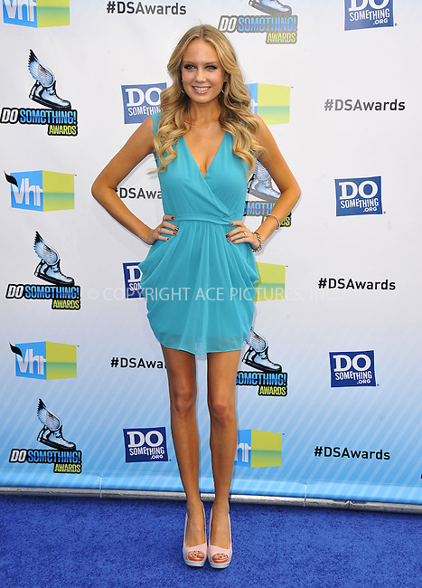 WWW.ACEPIXS.COM....August 19,2012, Santa Monica, CA.....Melissa Ordway at the 2012 Do Something Awards at Barker Hangar on August 19, 2012 in Santa Monica, California.........By Line: Peter West/ACE Pictures....ACE Pictures, Inc..Tel: 646 769 0430..Email: info@acepixs.com