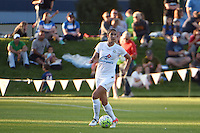 Kansas City, MO - Saturday May 28, 2016: FC Kansas City midfielder Yael Averbuch (10). FC Kansas City defeated Orlando Pride 2-0 during a regular season National Women's Soccer League (NWSL) match at Swope Soccer Village.