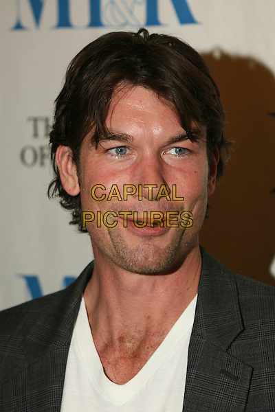 "JERRY O'CONNELL.MT & R's 24th Annual William S. Paley Television Festival, ""Ugly Betty"" at the Directors Guild, West Hollywood, California, USA..March 12th, 2007.headshot portrait mouth funny face stubble facial hair .CAP/ADM/BP.©Byron Purvis/AdMedia/Capital Pictures"