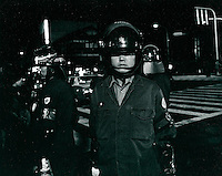 Polizeieinsatz bei Demonstration in Japan