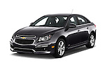 2016 Chevrolet Cruze-Limited 2LT-Auto 4 Door Sedan Angular Front stock photos of front three quarter view