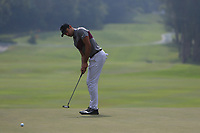 Julian Suri (USA) on the 6th green during Round 4 of the UBS Hong Kong Open, at Hong Kong golf club, Fanling, Hong Kong. 26/11/2017<br /> Picture: Golffile | Thos Caffrey<br /> <br /> <br /> All photo usage must carry mandatory copyright credit     (&copy; Golffile | Thos Caffrey)