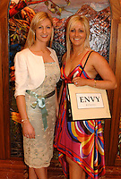 To celebrate the first birthday of ENVY Killarney, a night of fashion and fun took place in The Killarney Plaza Hotel on Wednesday night. The benefiting charity from the event was the  South Kerry Parkinsons Association Group. Pictured at the event were Envy  proprietors  Emir Irwin O'Shea and Clodagh Irwin Owens.<br />