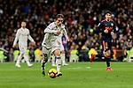 Real Madrid's Luka Modric during La Liga match between Real Madrid and Valencia CF at Santiago Bernabeu Stadium in Madrid, Spain. December 01, 2018. (ALTERPHOTOS/A. Perez Meca)