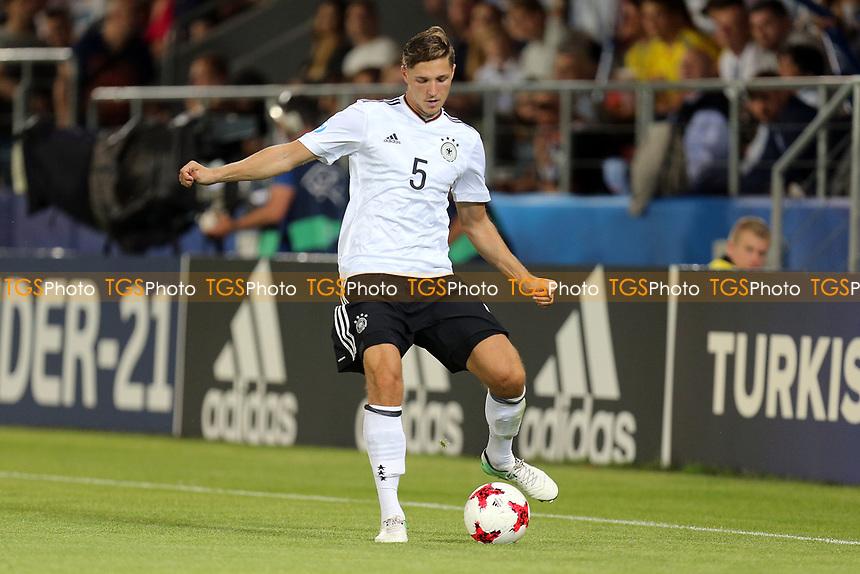 Niklas Stark of Germany during Germany Under-21 vs Spain Under-21, UEFA European Under-21 Championship Final Football at Krakow Stadium on 30th June 2017