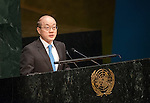 China<br /> <br /> General Assembly 70th session 32nd plenary meeting<br /> Report of the Secretary-General on the work of the Organization: report of the Secretary-General (A/70/1) [item 109]