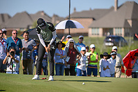 Sung Hyun Park (KOR) watches her putt on 17 during round 2 of  the Volunteers of America LPGA Texas Classic, at the Old American Golf Club in The Colony, Texas, USA. 5/6/2018.<br /> Picture: Golffile | Ken Murray<br /> <br /> <br /> All photo usage must carry mandatory copyright credit (&copy; Golffile | Ken Murray)