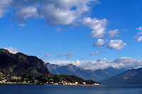 Italien, Lombardei, am Comer See, Blick von Como
