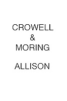 Crowell & Moring Allison