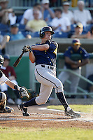 June 24, 2009:  Outfielder Kyle Saukko of the State College Spikes during a game at Eastwood Field in Niles, OH.  The Spikes are the NY-Penn League Short-Season A affiliate of the Pittsburgh Pirates.  Photo by:  Mike Janes/Four Seam Images