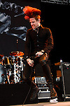 Josh Todd of Buckcherry performs at the Klipsch Music Center in Indianapolis, IN.