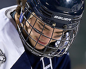 Trevor van Riemsdyk (UNH - 6) - The University of Maine Black Bears defeated the University of New Hampshire Wildcats 5-4 in overtime on Saturday, January 7, 2012, at Fenway Park in Boston, Massachusetts.