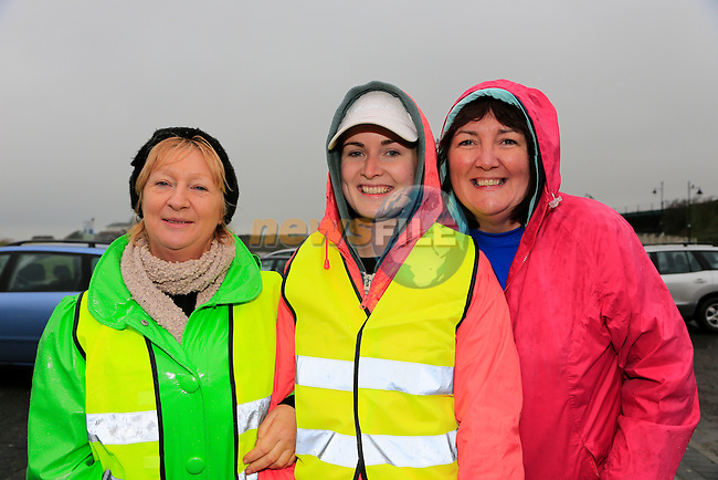 Bernie Fitzsimons, Kelly Wood and Therese Wood<br /> Meath Local Sports Partnership and ISC have linked up with RTE's Operation Transformation to hold a national walk day<br />  Picture: Fran Caffrey www.newsfile.ie