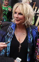 NEW YORK, NY-July 18: Jennifer Saunders at Fox Searchlight Pictures presents premiere of Absolutely Fabulous: The Movie  to talk about  Star Trek Beyond in New York. NY July 18, 2016. Credit:RW/MediaPunch
