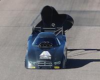 Feb 25, 2017; Chandler, AZ, USA; NHRA funny car driver Phil Burkart during qualifying for the Arizona Nationals at Wild Horse Pass Motorsports Park. Mandatory Credit: Mark J. Rebilas-USA TODAY Sports