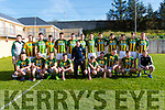 The Lios Póil team that played Beale in the County League match at the Lispole GAA Grounds on Saturday evening.