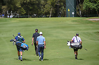 Webb Simpson (USA) and Paul Casey (GBR) approach the green on 14 during round 2 of the World Golf Championships, Mexico, Club De Golf Chapultepec, Mexico City, Mexico. 2/22/2019.<br /> Picture: Golffile | Ken Murray<br /> <br /> <br /> All photo usage must carry mandatory copyright credit (© Golffile | Ken Murray)