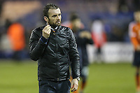 Nathan Jones (Manager) of Luton Town after the Sky Bet League 2 match between Luton Town and Cheltenham Town at Kenilworth Road, Luton, England on 31 January 2017. Photo by David Horn / PRiME Media Images