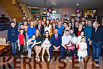 The christening of baby Harper Lily O&rsquo;Halloran from Ballymac in O&rsquo;Riada&rsquo;s Bar on Saturday.<br /> Seated l-r, Aishlinn O&rsquo;Halloran, Shannon Nolan, Harper Lily O&rsquo;Halloran, Aaron O&rsquo;Halloran and Jason Nolan.