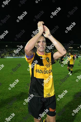 2009-08-26 / Voetbal / seizoen 2009-2010 / SK Lierse - Antwerp FC / Jurgen Cavens maakte nog gelijk..Foto: Maarten Straetemans (SMB)