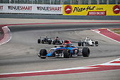 F4 US Championship<br /> Rounds 16-17-18<br /> Circuit of The Americas, Austin, TX USA<br /> Saturday 16 September 2017<br /> 41, Braden Eves 8, Kyle Kirkwood<br /> World Copyright: Keith Daniel Rizzo<br /> LAT Images