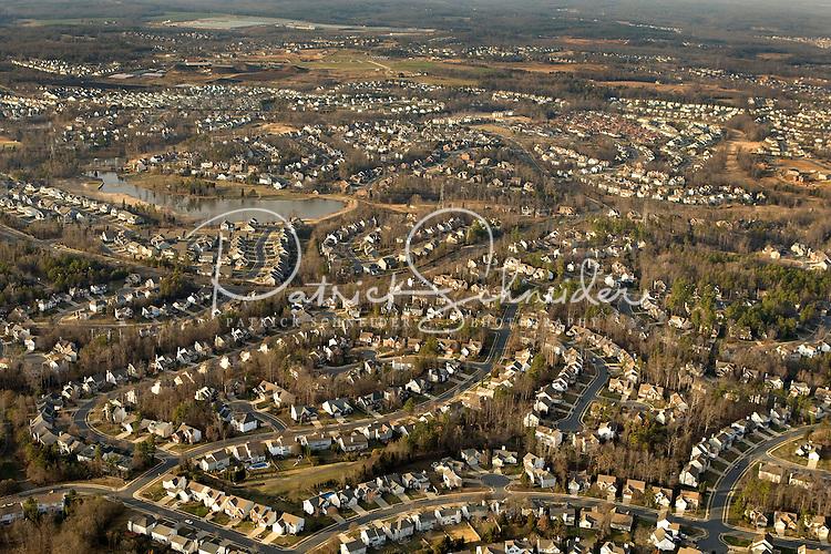 A bird's eye view on Charlotte, NC development.