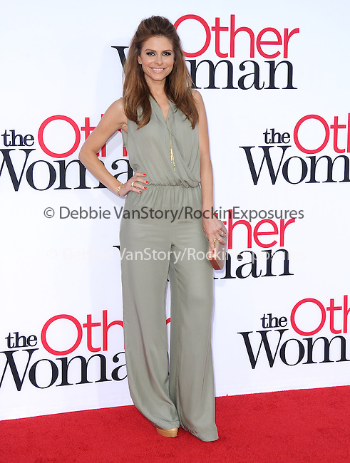 Maria Menounos attends The Twentieth Century Fox L.A. Premiere of Th eOther Woman held at The Regency Village Westwood in Westwood, California on April 21,2014                                                                               © 2014 Hollywood Press Agency