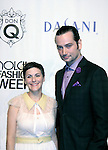 Bold and the Beautiful Constantine Maroulis poses with designer Katty Xiomara at Nolcha Fashion Week New York on September 8, 2014 at Eyebeam Atelier - 540 W. 21st St, New York City, New York. (Photo by Sue Coflin/Max Photos)
