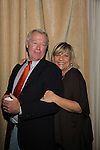 Jerry verDorn and Kim Zimmer at The One Life To Live Lucheon at the Hemsley Hotel in New York City, New York on October 9, 2010. (Photo by Sue Coflin/Max Photos)