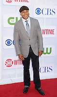 BEVERLY HILLS, CA - JULY 29: LL Cool J arrives at the CBS, Showtime and The CW 2012 TCA summer tour party at 9900 Wilshire Blvd on July 29, 2012 in Beverly Hills, California. /NortePhoto.com<br />