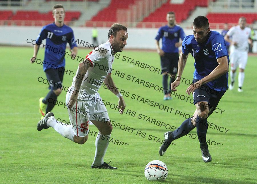 Fudbal Super liga season 2015-2016<br /> Radnicki (Nis) v Mladost <br /> Radnicki Marko Blazic<br /> Nis, 13.09.2015.<br /> foto: Sasa Djordjevic/Starsportphoto &copy;