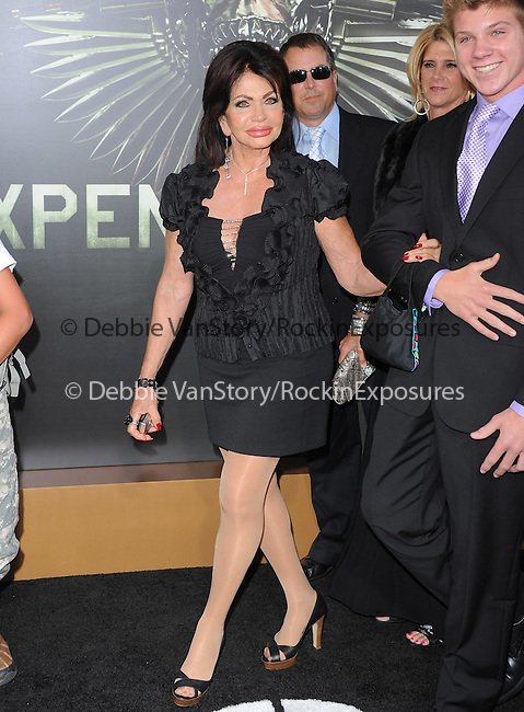 Jacqueline Stallone at Lionsgate World Premiere of The Expendables 2 held at The Grauman's Chinese Theatre in Hollywood, California on August 15,2012                                                                               © 2012 Hollywood Press Agency